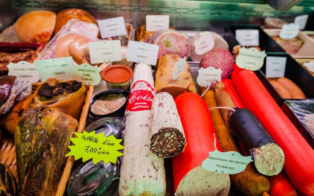 Boucherie artisanale à Épinal