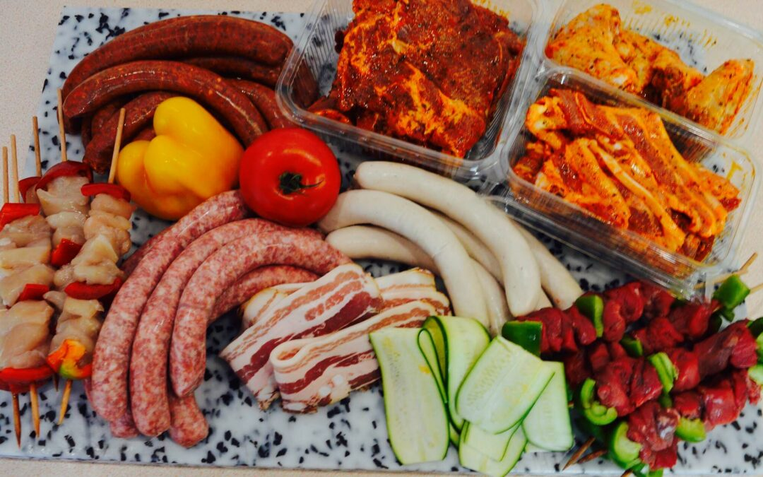 Viande pour barbecue à Epinal